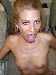 amatör tjejer som klär av sig nakna