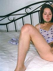 amatör frivillig sex med hårig fitta